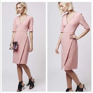Topshop Midi Wrap Dress
